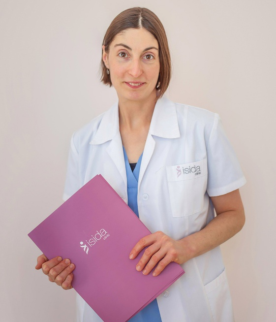 Embryologist Irina Zakharova underwent a training course in ORIGIO, Denmark